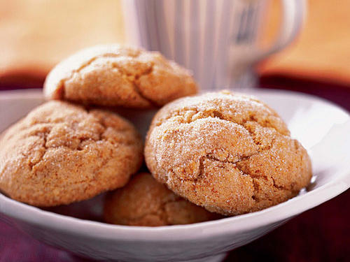 Healthy Double-Ginger Cookies Recipe