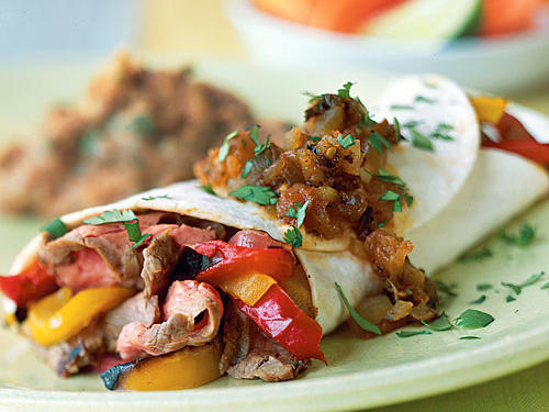 Tex-Mex Flank Steak and Vegetables