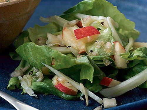 Fennel and Apple Salad with Lemon-Shallot Dressing Recipe