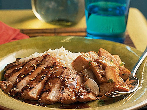 Healthy Marinade: Grilled Chicken with Whiskey-Ginger Marinade