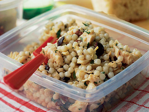 Healthy Chicken Salad with Olive Vinaigrette Recipe