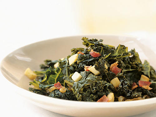 Braised Kale with Bacon and Cider Recipes