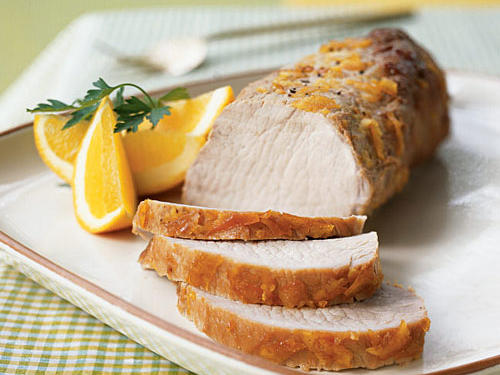 Orange-Brined Pork Loin