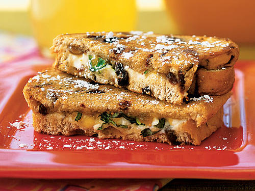 Healthy Grilled Goat Cheese Sandwiches with Fig and Honey Recipes