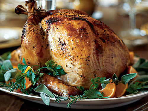 Apple Cider-Brined Turkey with Savory Herb Gravy Recipes