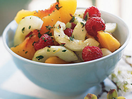 Peach Salad with Cumin Dressing