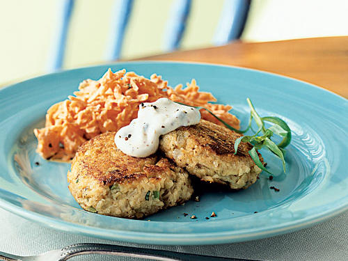 Salmon Croquettes with Remoulade