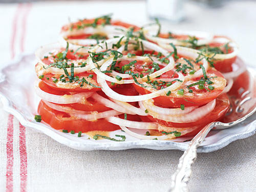 Louisiana Recipe: Creole Tomato Salad