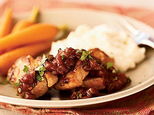 Spicy-Sweet Pork Tenderloin