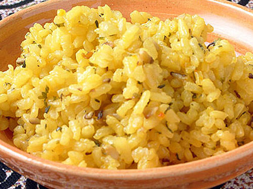 Baked Rice (Arroz al Horno)