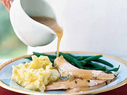 Parmesan-Sage Roast Turkey with Sage Gravy Recipes