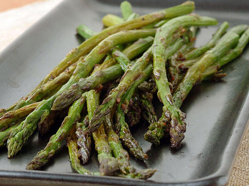 Balsamic Roasted Asparagus