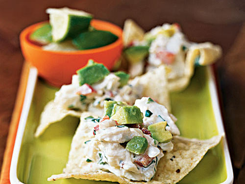 Chipotle-Lime Crab Crisps Recipe