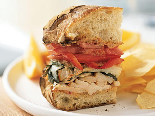 Mozzarella Chicken Sandwich