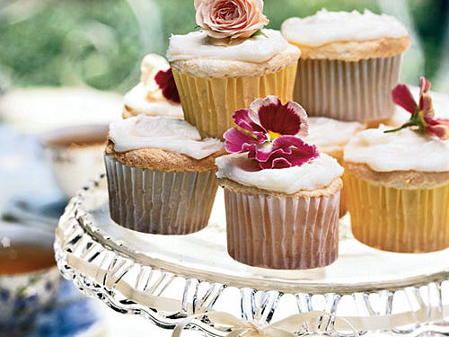 Lemon Angel Food Cupcakes Recipe