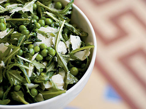 Fresh English Pea Salad with Mint and Pecorino