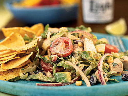 Healthy Chipotle Chicken Taco Salad Recipes