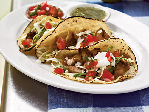 1004 Soft Chicken Tacos