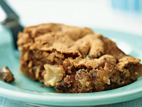 Apple-Date Bars Recipe