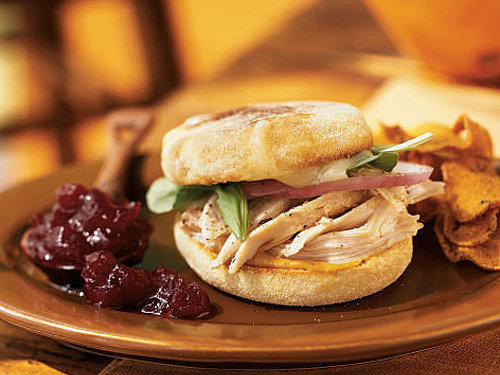 Toasted Turkey and Brie Sandwiches