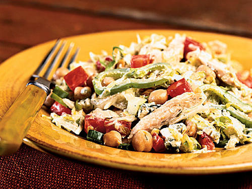 Turkey and Blue Cheese Salad