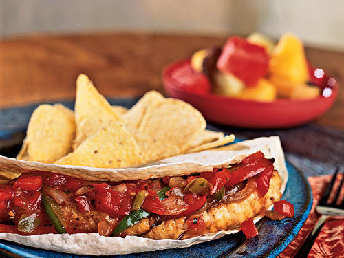 Catfish Fajitas