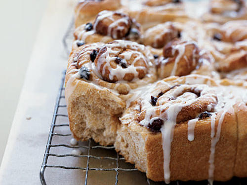 Whole Wheat Flour Cinnamon Rolls