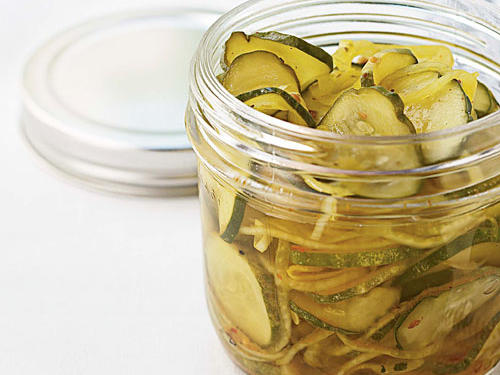Lower-Sodium Pickles
