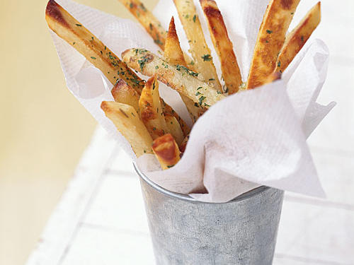Garlic Fries - Recipes