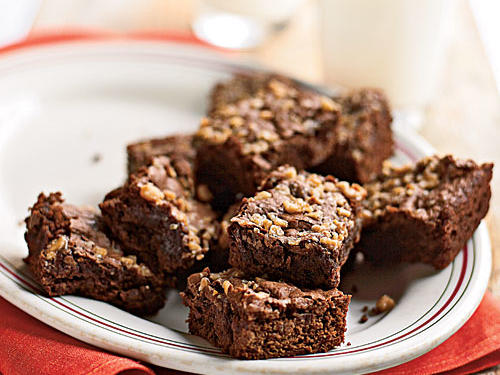 Fudgy Mocha-Toffee Brownies Recipes
