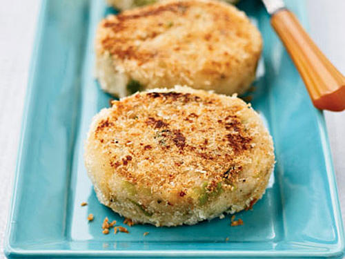 Crisp Mashed Potato Cakes