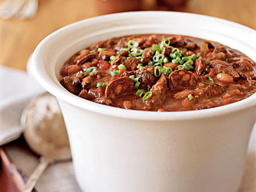 Healthy Beef, Black Bean, and Chorizo Chili Recipe