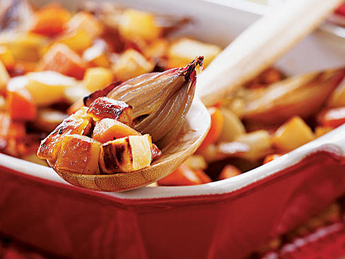 Honey-Roasted Root Vegetables Recipes