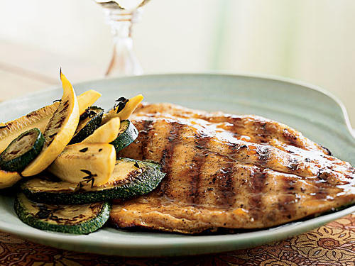 Pompano with Tropical Barbecue Glaze