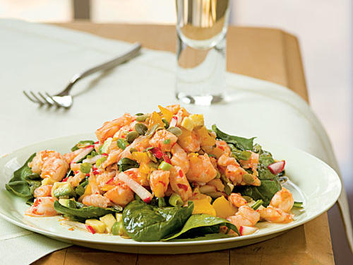 2007 Grand Prize Winner and Category Winner: Caribbean Shrimp Salad with Lime Vinaigrette