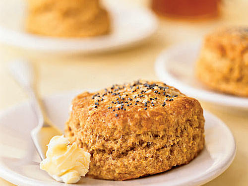 Whole Wheat Flour Seeded Cornmeal Biscuits