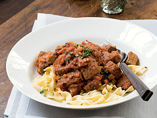 2007 Finalist: Roasted Tomato-Beef Goulash with Caraway