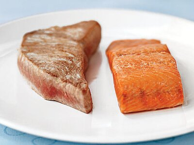 Take Two: Wild Salmon & Yellowfin Tuna - Cooking Light