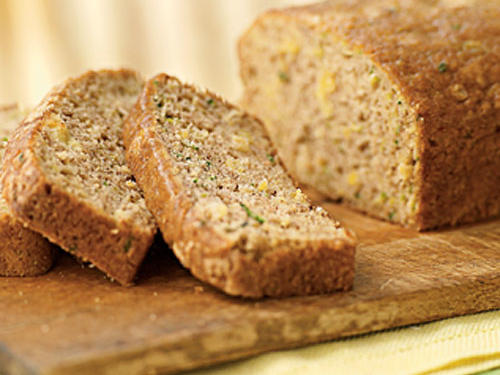 Zucchini-Pineapple Quick Bread Recipe