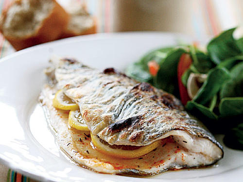 Spicy Lemon Trout Recipes