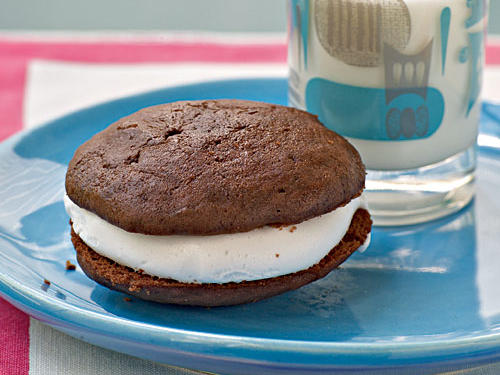 Chocolate Sandwich Cookies with Marshmallow Cream Filling - Recipes