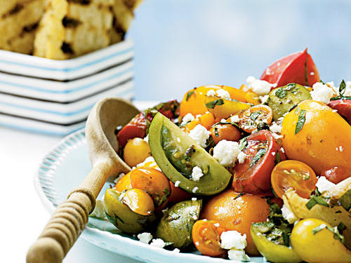 Top-Rated Fruit Recipe: Heirloom Tomato Salad with Herbs and Capers