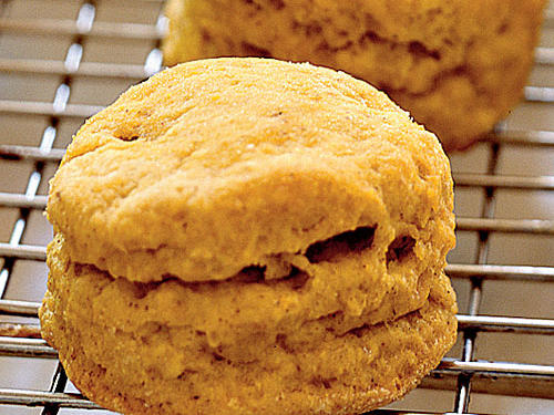 Spiced Pumpkin Biscuits