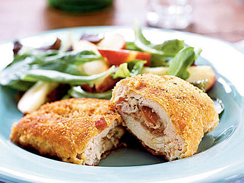 Prosciutto and Fontina-Stuffed Chicken Breasts