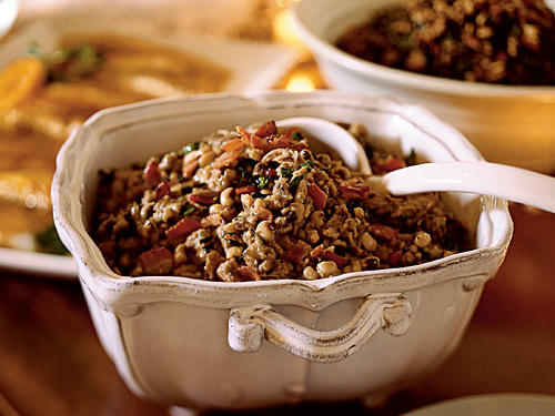 Duck and Black-Eyed Pea Cassoulet