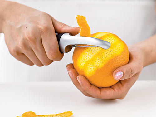 """""""Candied citrus peel is an ideal gift from your kitchen,"""" says Cooking Light Test Kitchens Professional Kathryn Conrad."""