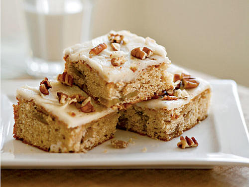 Roasted Banana Bars with Browned Butter–Pecan Frosting Recipe