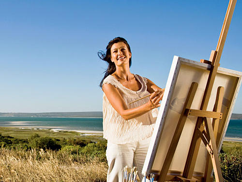 Artists began coming to this part of Orange County at the turn of the 20th century to paint the landscape en plein air.