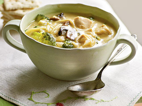Broccoli and Chicken Noodle Soup Recipes