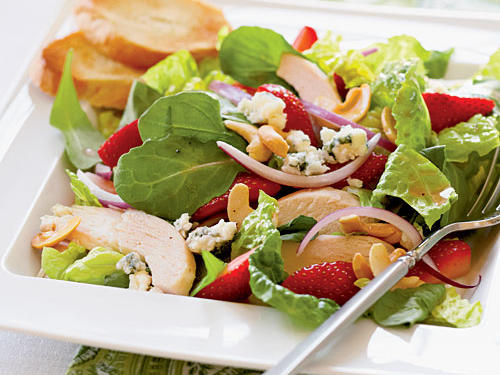 Chicken and Strawberry Salad Recipes